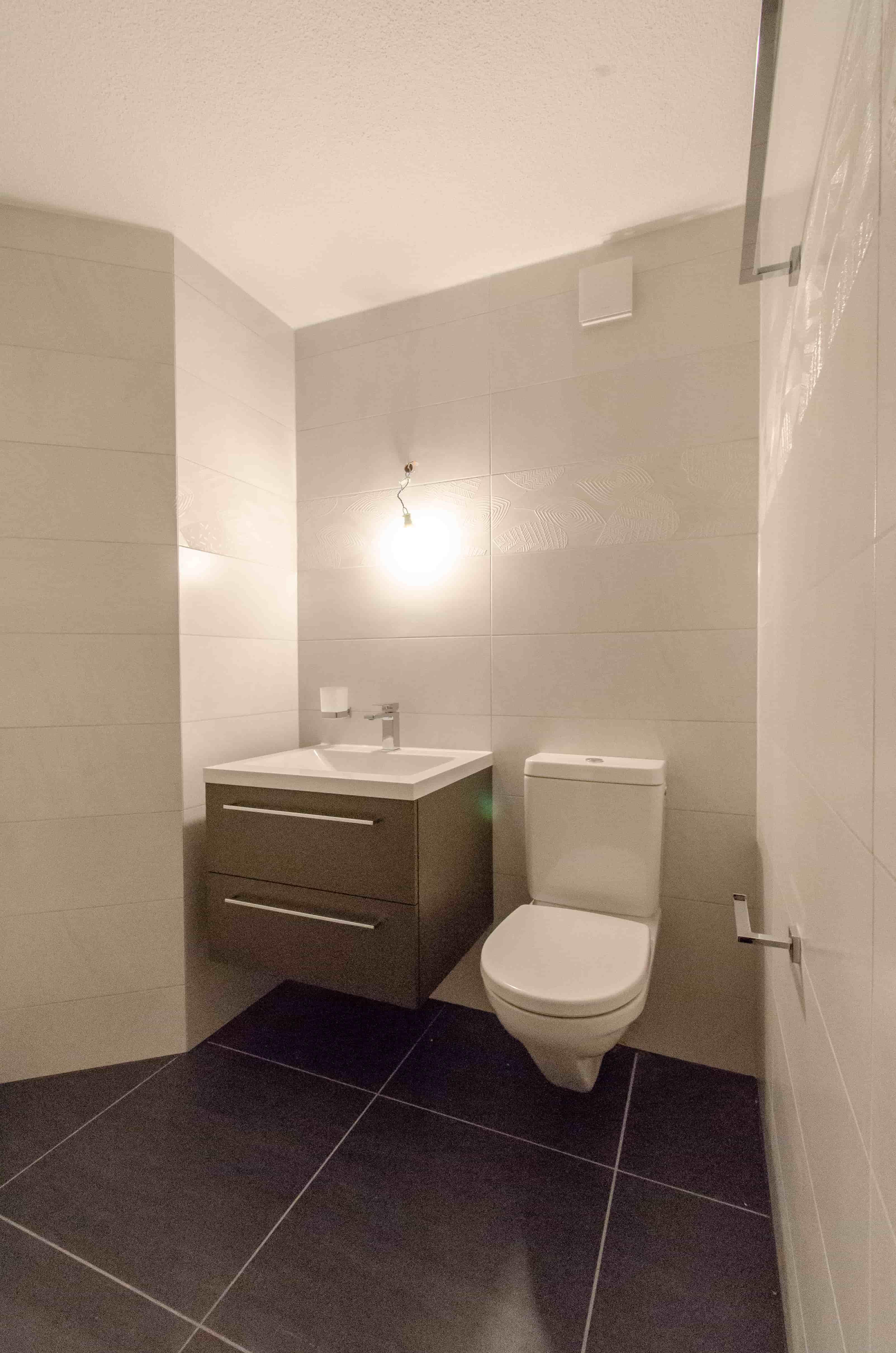 Dusche:WC